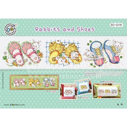 (SO-G191) 레빗앤슈즈 Rabbits and Shoes